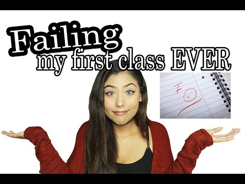 FAILING MY FIRST CLASS EVER ♡ STORYTIME
