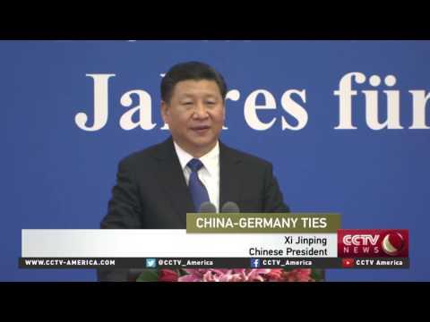 Chinese President Xi meets German President Gauck in Beijing