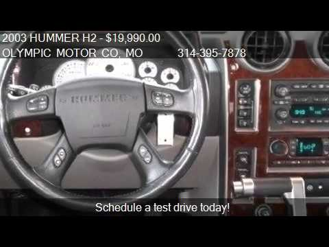 2003 Hummer H2 For Sale In Florissant Mo 63033 At The