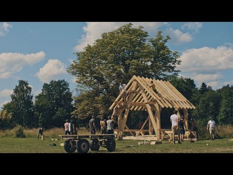 Building A Timber Frame Cabin - Northmen Guild's 10 Day Carpentry Course