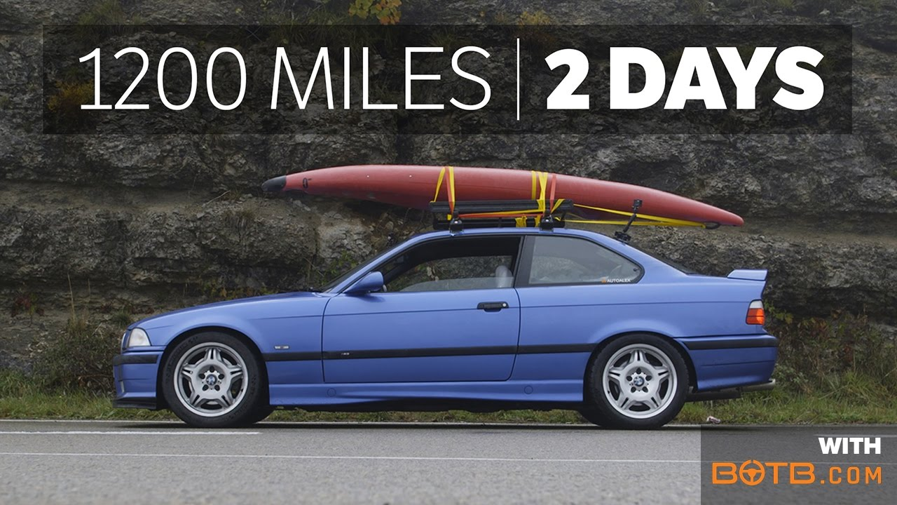 What It's Like Doing 1200 Miles In An E36 M3