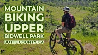 Mountain Biking Upper Bidwell Park in California | VLOG Part 1