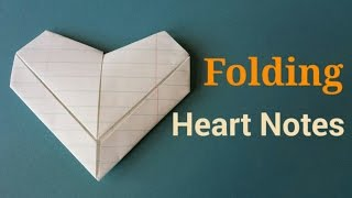 Download Folding Valentine Heart Notes | By Craft Happy Summer Mp3