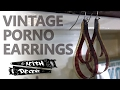 DIY VINTAGE PORNO FILM EARRINGS - a Decent Project
