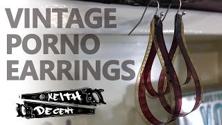 DIY VINTAGE PORNO FILM EARRINGS - a Decent Project