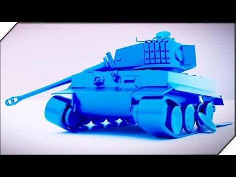 НЕМЕЦКИЕ ТАНКИ В УЖАСЕ - Игра Total Tank Simulator Demo 5