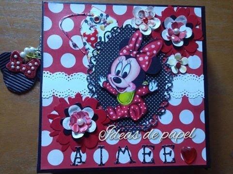 Minnie Mouse Album Scrapbook Youtube