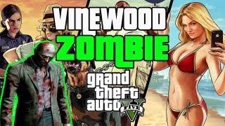GTA V The Vinewood Zombie Location