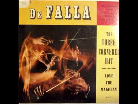 Manuel De Falla - Love The Magician & Three Cornered Hat on 1960 Mono Somerset LP.