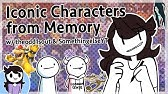 Drawing Characters from Memory w/ theodd1sout &amp SomethingElseYT