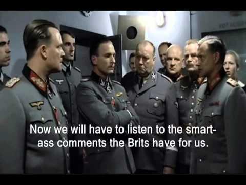 Hitler is Informed The Brits Won Tour De France