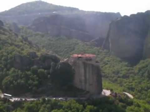 Views Over Meteora, Greece.