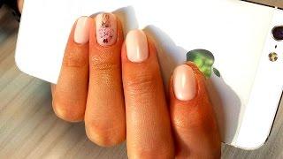 Дизайн ногтей гель-лак shellac - стразы на ногтях (видео уроки дизайна ногтей)