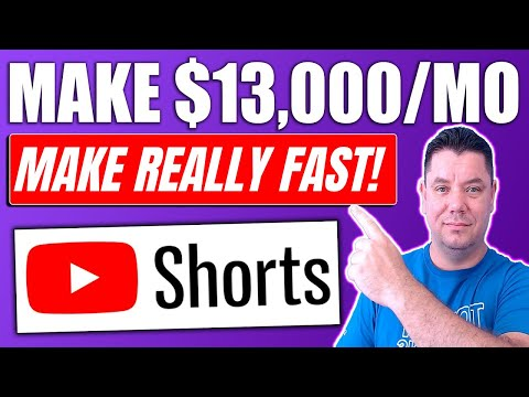 Copy & Paste YouTube Shorts And Earn $13,000/Mo Without Making Videos 2021 (FULL TUTORIAL)