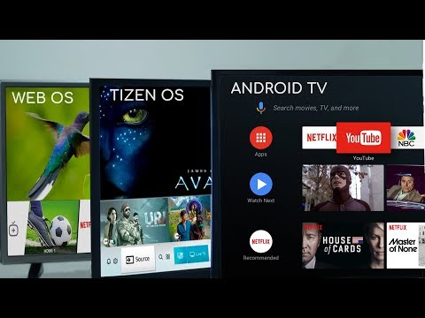 Android TV Vs Samsung Tizen Vs LG WebOS: What's The Difference?