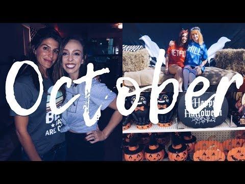 I MET GENEVIEVE PADALECKI  October 2018 Vlog