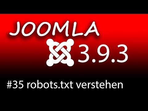 Die Robots.txt Erstellen Und Verstehen Mit Joomla 3.9.3 -  [1080p HD]