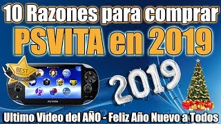 10 Razones para Comprar PSvita en 2019 Feliz Año Nuevo