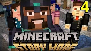 Minecraft Story Mode Episode 4: A Block And A Hard Place FULL Gameplay Walkthrough 1080p 60fps