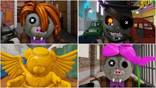 ROBLOX PIGGY NEW BAKARI JUMPSCARES - Roblox Piggy Book 2 rp