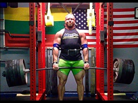 800x2 Block Pull (363kg) & Press PR's