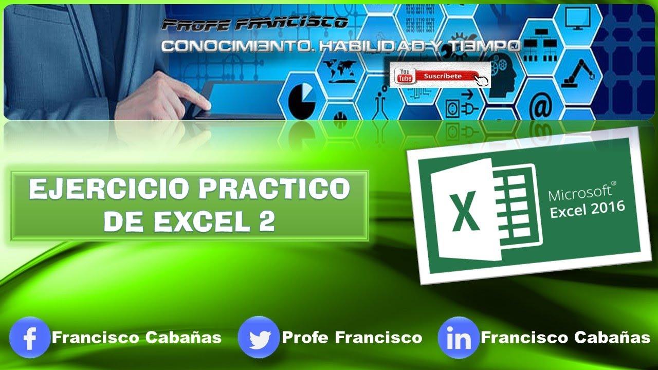 ejercicios excel 2007 pdf