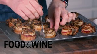 How to Make Bacon Potato Roses | Mad Genius Tips | Food & Wine