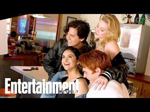 'Riverdale' Cast Tease Season 2 Details Behind The Scenes   Cover Shoot   Entertainment Weekly