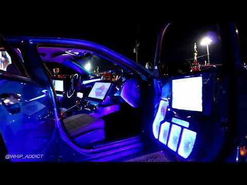 WhipAddict: 14' Dodge Charger on Forgiato Magro 32s, Kandy Blue, TVs Everywhere, Fiberglass