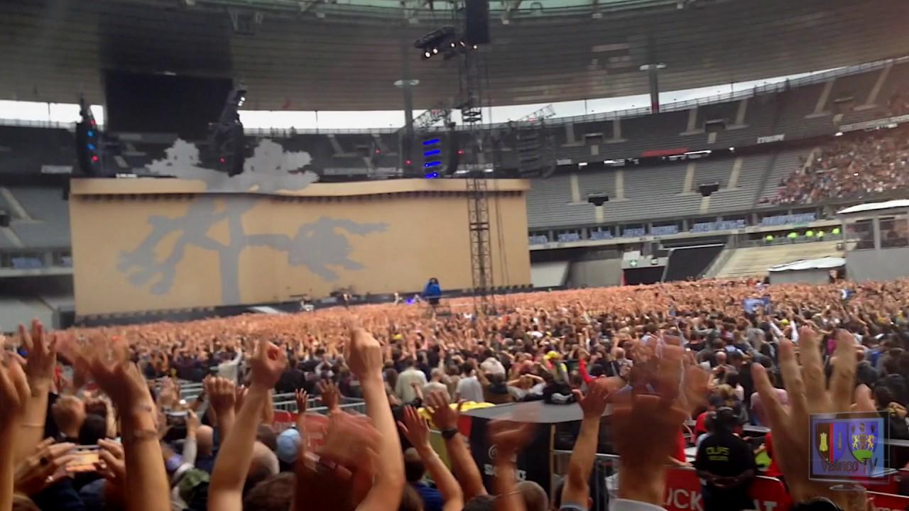 The Joshua Tree Tour 2017 Concert De U2 Au Stade De France Mardi 25 Juillet 2017 Extrait