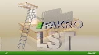 FAKRO loft ladders - LST scissor loft ladder