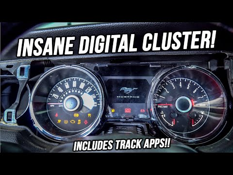 Revealing The SECRET Mod! Swapping The Mustang's Cluster!