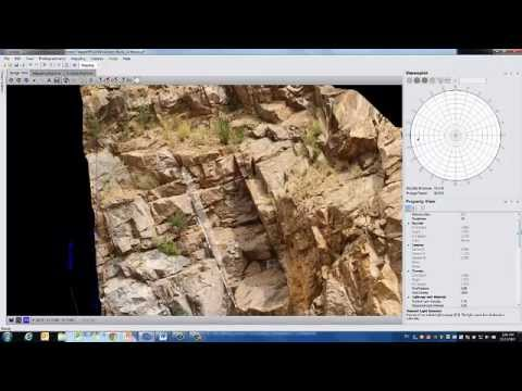 Sirovision V5.2 3D photogrammetry software for structural mapping and analysis. Webinar