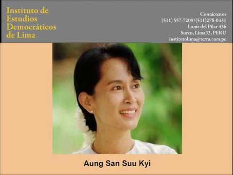 ¿Quién es Aung San Suu Kyi?