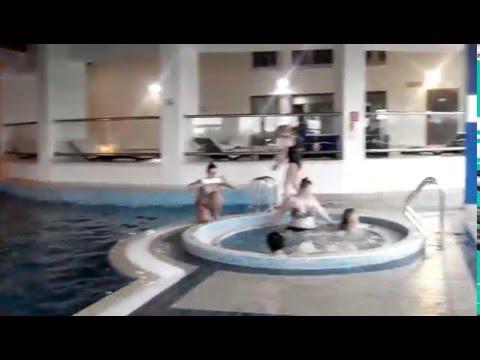 Vilnius Grand Resort обзор бассейна СПА
