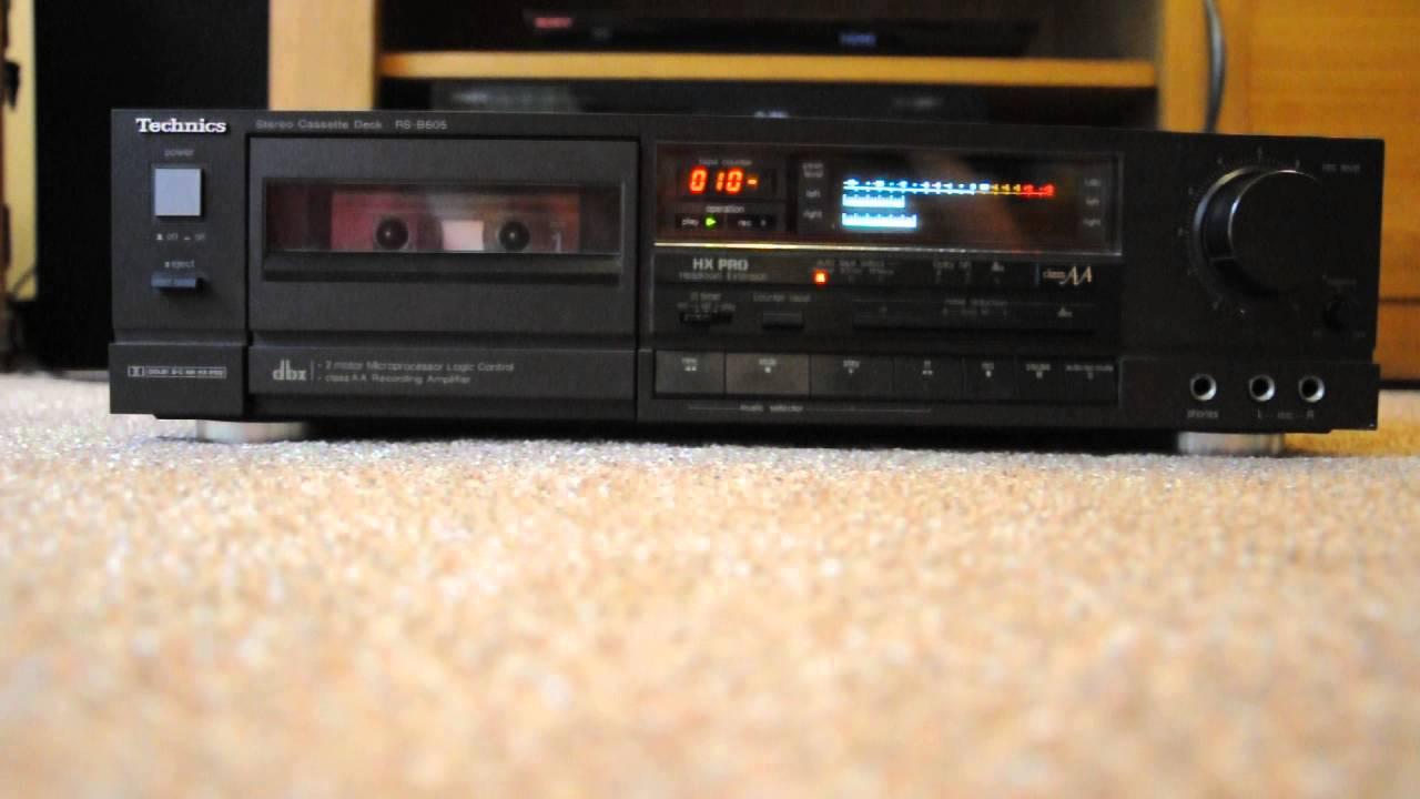 Classic Technics RSB605 Cassette
