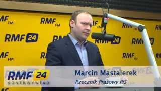 Mastalerek: Dobra reakcja władz. Rosja nie będzie nam wybierała delegacji