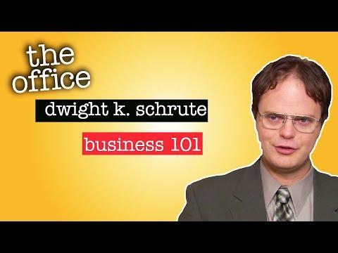The Man Cave - Dwight K. Schrute: Business 101