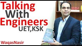 Talking To Engineers: Tips for Engineering Students -By Qasim Ali Shah | In Urdu