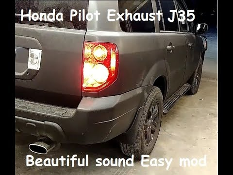 honda pilot exhaust sounds amazing now! 2008 Honda Accord Coupe Engine