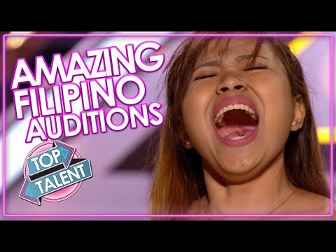 5 AMAZINGLY TALENTED FILIPINO'S ON X Factor & Got Talent! Top Talent