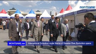 International Exhibition under theme of Disaster Risk Reduction opens1