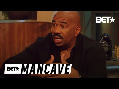 Gender Roles in Society: Steve Harvey Shares His Thoughts   BET's Mancave
