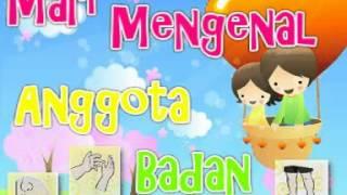 2d Animation For Kids Learning - Kenali Anggota Badan