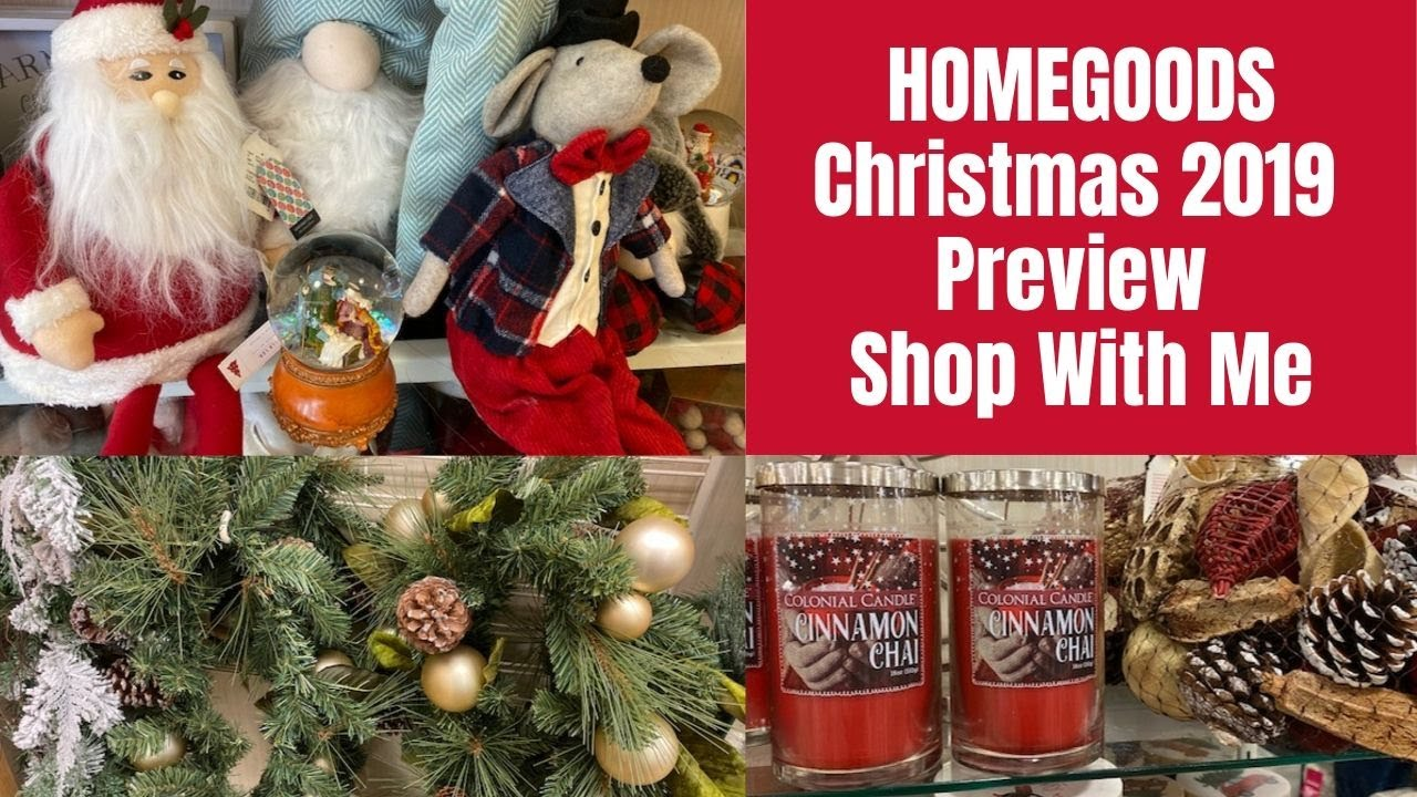 HOMEGOODS Christmas 2019 Preview Shop With Me