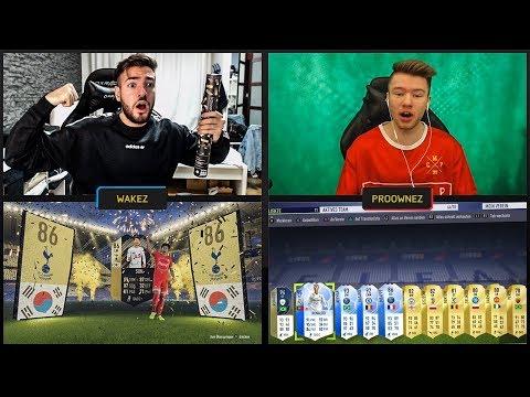OMG! WALKOUT SON + TOTGS & PROOWNEZ ESKALIERT!😱🔥 FIFA 18 Pack Opening Battle 🤑 Wakez