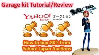 Review: How to buy from Yahoo Japan Auctions & Yukino Miyazawa GK Figure