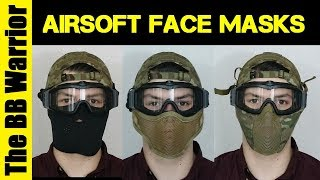 What is the Best Face Protection for Airsoft?