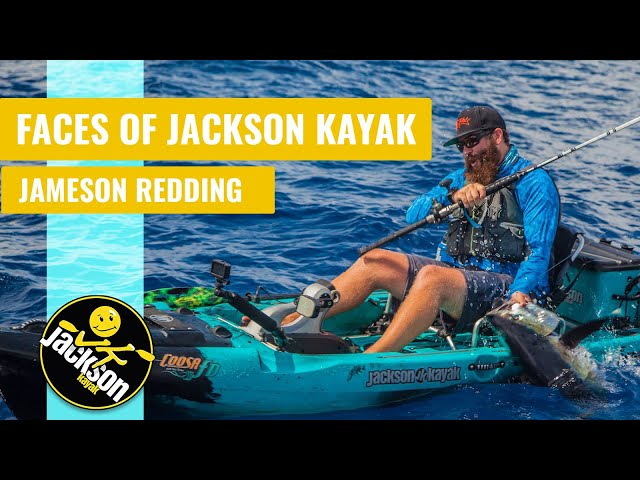 Faces Of Jackson Kayak : Brand Manager Fishing Jameson Redding