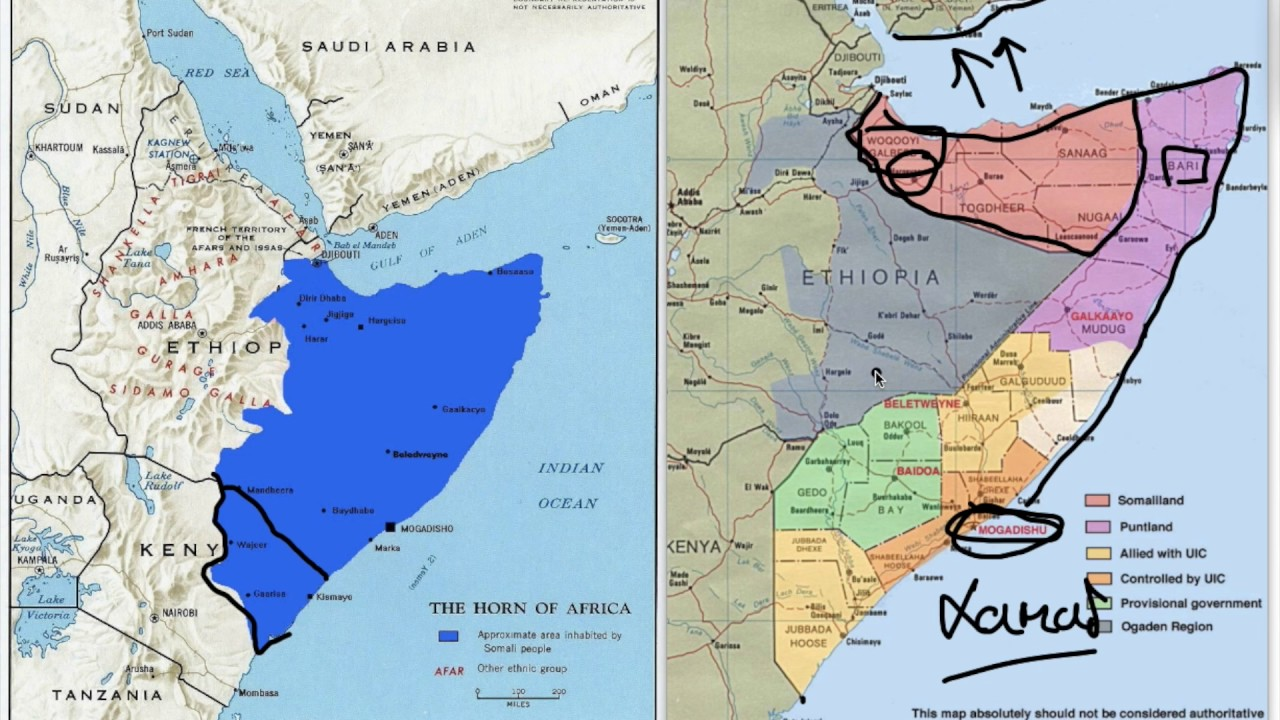 Where are the Somalis? A quick tour of Somalis in the Horn of Africa